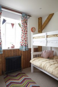 The Scout Hall bunk room